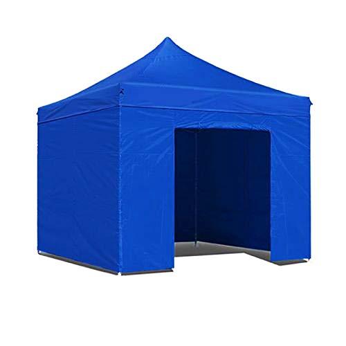 Carpa Jardín / Gazebo 3X3 Carpa plegable impermeable para ferias y mercados Color Azul: Amazon.es: Jardín