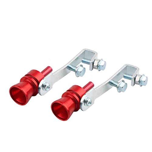 Hongxin Sound Maker,Exhaust Pipe Oversized Roar Maker Car Auto Exhaust Pipe Loud Whistle Sound Maker,S/L/M/XL,Aluminum Turbo Sound Whistle Exhaust Pipe Tailpipe Blow-Off Valve Simulator (M)