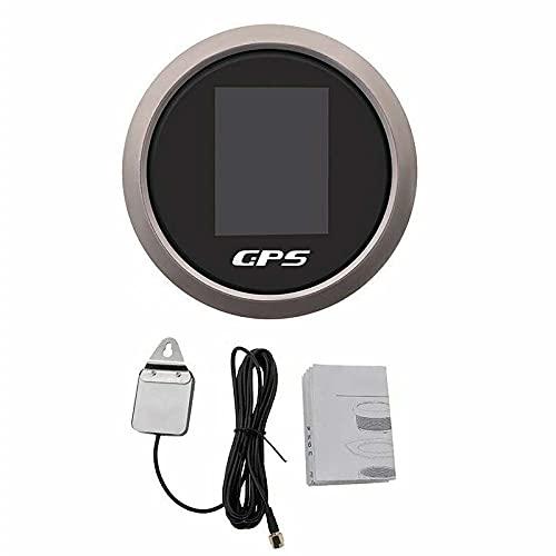 Velocímetro GPS digital, velocímetro GPS resistente al agua, odómetro apto para ATV-UTV-MARINE-Barcos-Motocicletas-Automóviles-Motos-Carros de Golf
