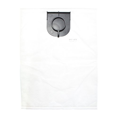 Hilti HEPA Fleece Bags for VC 40-U Vacuum - 203857 - Pack of 5