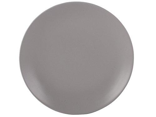 Mikasa Gourmet runderKeramik-Teller, Grau –20 cm (7,75 Zoll)