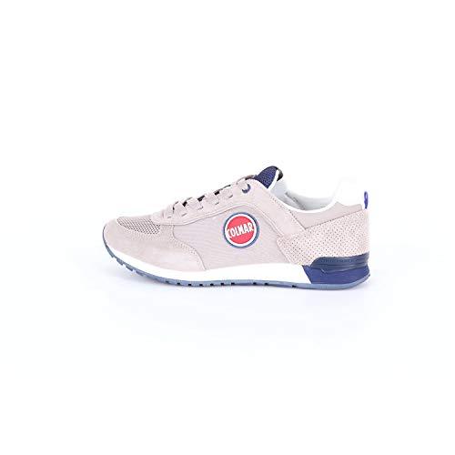 Colmar TRACOL Gray Blue Grigio Blu Scarpe Sneakers Uomo Lacci 40