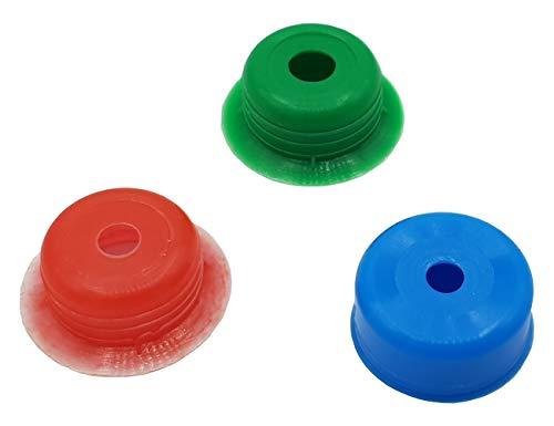 """PEPTE Ahorro de Agua de la Ducha reductores de caudal Reguladores Adaptadores Set - 7-20 l/min - 1/2"""""""