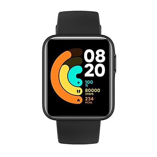 Xiaomi Mi Watch Lite Smartwatch, Sportuhr, wasserdicht, Schlafüberwachung, Herzfrequenzüberwachung, Musiksteuerung, Nachrichten-Benachrichtigungen etc.