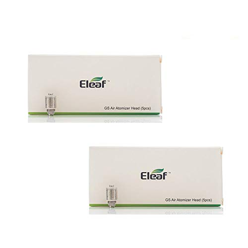 Resistenza ELEAF GS di ricambio 0,75ohm (2 pacchetti di valore) Resistenza per GS Air, GS Air 2, iJust Start, iStick Basic sigaretta elettroniche Senza Nicotina con PEACEVAPE™ Vape Band
