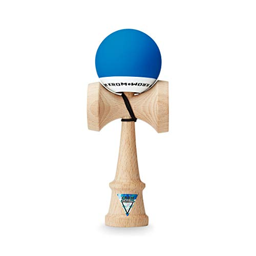 KROM Kendama POP Dark Blue – Smooth Texture and Flawless Balance – Enhanced Cognitive Skills – Improved Balance, Reflexes, and Creativity – Kendama Pro Model for Beginners and Experts