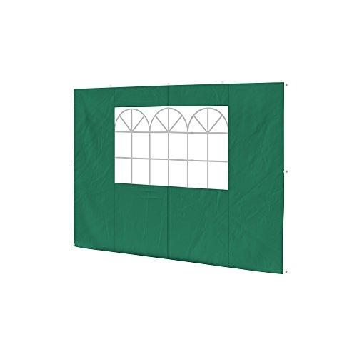 paramondo Parete Laterale Finestra per Gazebo Pieghevole Basic o Premium, Verde