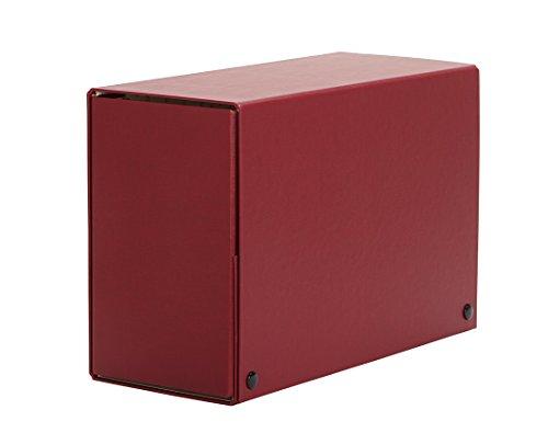 PARDO 879361 - Carpeta de proyectos con broche, 200 mm, color rojo