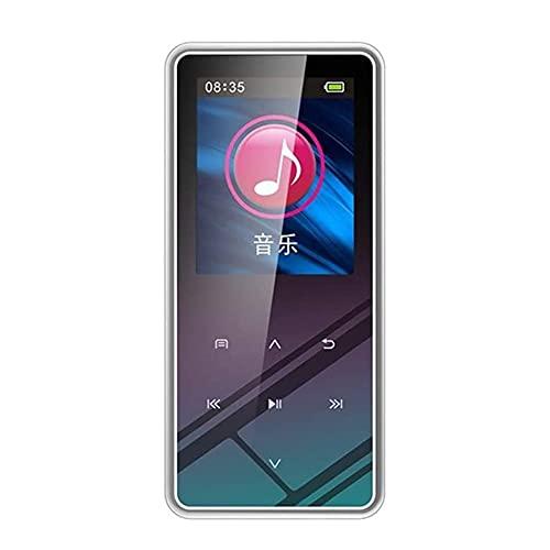 Adesign MP3 Jugador, 1.5 Pulgadas TFT Botones táctiles, FM Radio, Reproductor de música sin pérdida de HiFi con Altavoz, FM Radio, grabación, e-Book Almacenamiento más Grande