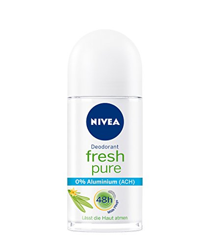 Genuine Authentic German Nivea Deodorant Fresh Pure Aluminum Free 1.69 fl.oz/50ml