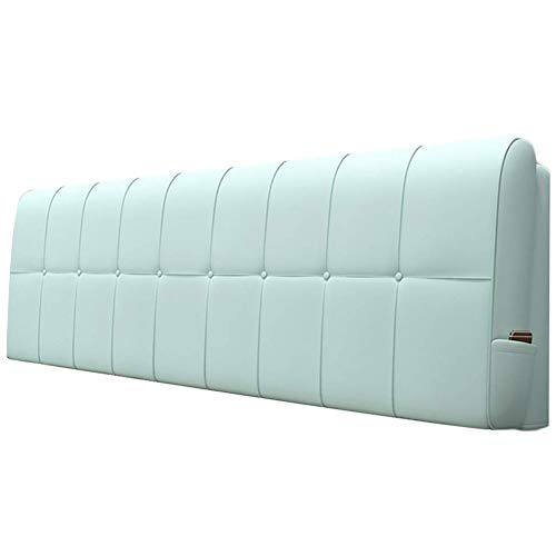 QIANCHENG-Cushion Kopfteil Rückenlehnen Bett Kissen Keilförmige Rückenlehne Lumbalpelotte Weiche Tasche Leicht zu reinigen Familienzimmer PU, 5 Farben (Color : #4, Size : 150x58cm)