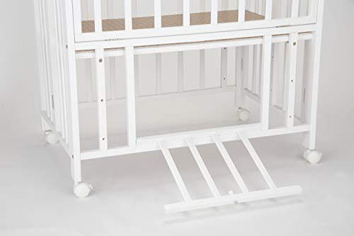 カトージミニベッド折り畳みホワイト02700