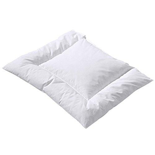 Aro Artländer Oreiller plat pour bébé « DAUNA MEDICA® » équipement de lit, blanc