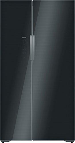 Siemens KA92NLB35 iQ700 Side-by-Side / A++ / 175,6 cm Höhe / 385 kWh/Jahr / 202 L Gefrierteil / Touch Control 7-Segment electronic komfortable Sensorfelder