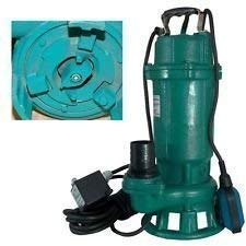 Profi Fäkalienpumpe mit Schneidmesser Leistung 1500Watt Fördermenge: 18000l/h=300 l/min Spannung: 230V/50Hz + Schutzschalter der die Pumpe vor Schäden schützt.