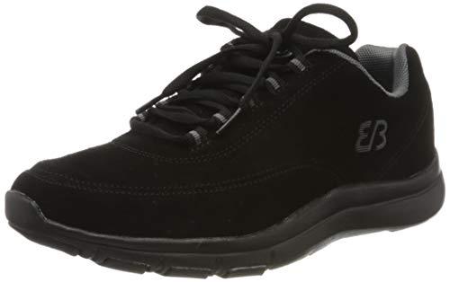 Brütting Hillsboro Sneaker Unisex Erwachsene, Schwarz/ Grau, 43 EU
