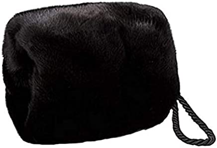d418df521c497 Women s Real Mink Fur Purse Hand Warmer Muff Wristlet