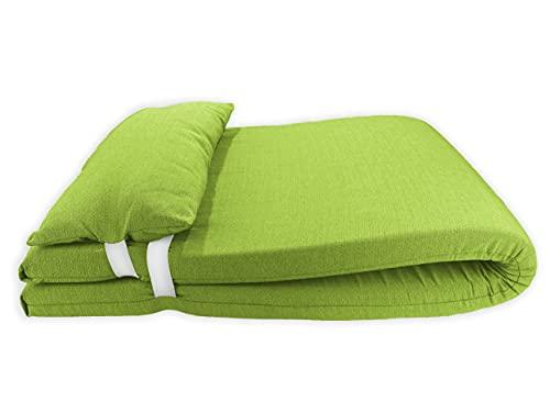 Colchón para Tumbona con Cojín. Cojín 180x60x6 Desenfundable, Cómodo y Elegante. Ideal...