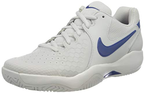 Nike Air Zoom Resistance, Zapatillas de Tenis Hombre, Gris (Vast Grey/Indigo Force...