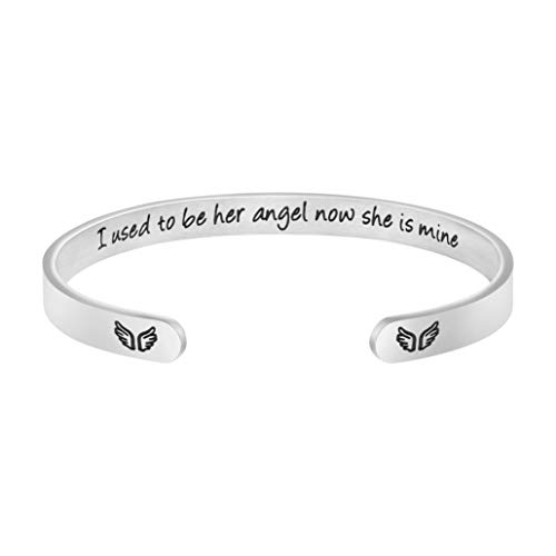 Joycuff Personalized Mother Memorial Bracelet Sympathy Jewelry Loss of Mom...