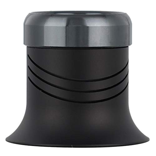 Qiterr 【𝐏𝐚𝐬𝐜𝐮𝐚】 Kit de reparación de Relojes, Lupa Cristal de Zafiro Lente de Metal Barril Relojes Reparación Lupa(10X)