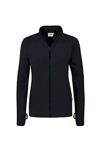 Hakro Woman Heavy Fleece Jacke Yukon, HK237-schwarz, L