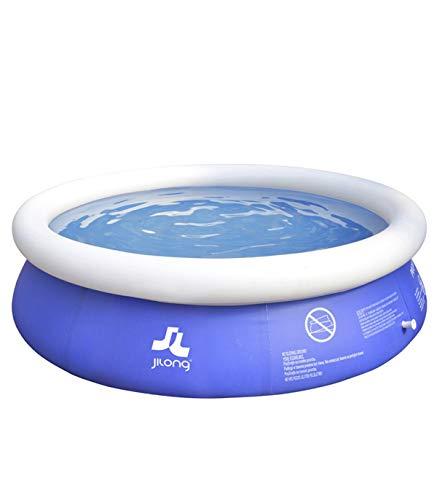 Wonduu Piscina Hinchable Redonda 360 x 90 cm   Piscina Inflable Easy Setup   Capacidad de 6,645 litros