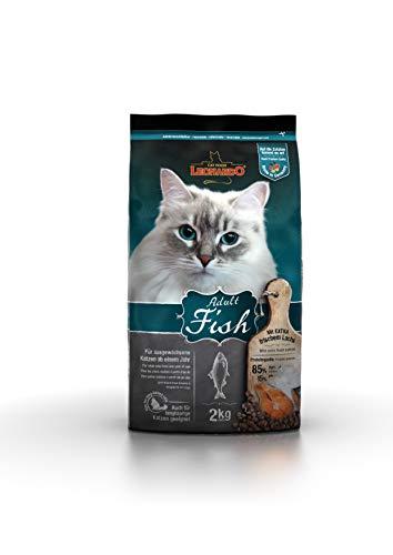 Leonardo Adult Fish [2kg] Katzenfutter | Trockenfutter für Katzen | Alleinfuttermittel für ausgewachsene Katzen Aller Rassen ab 1 Jahr