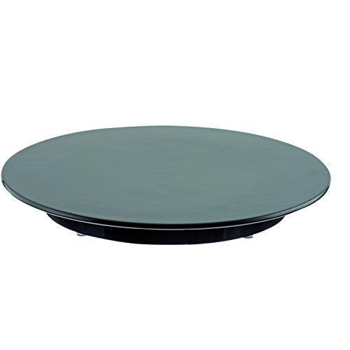 Tortenplatten Melamin schwarz Ø 24, 30 und 32 cm, stabile Ausführung, Durchmesser:Ø 30 cm