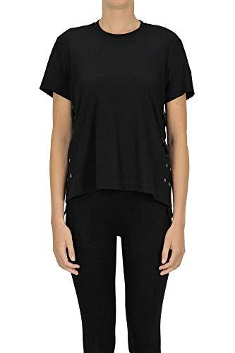 MONCLER 6 Noir Kei Ninomiya Cotton t-Shirt Woman Black, occasion d'occasion  Livré partout en Belgique