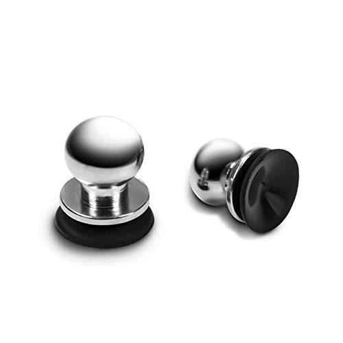 Tragbare Spielkonsole, leicht, aus Metall, für Gaming-Controller für Handys und Tablets (Silber)