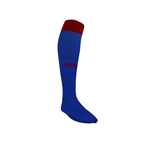 Calcetines FC. Barcelona 2019-20 - Producto con Licencia - Niño Talla 1 de 6 a10 años - Medias sin Talon de 40 cm.