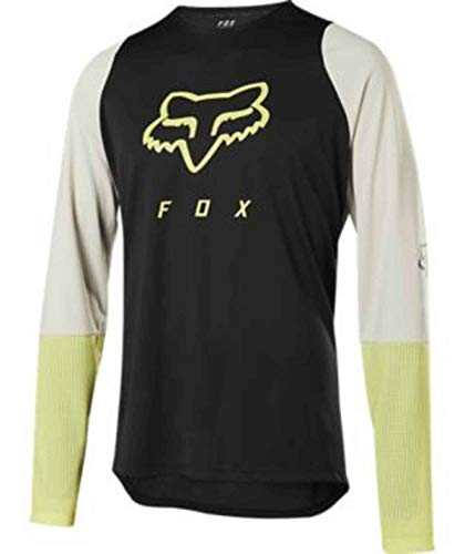 M FOX MTB-Jersey Kurzarm Ranger Dri-Release Schwarz Gr