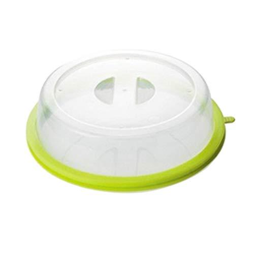 Cabilock Mikrowellenabdeckung stapelbar Mikrowellen-Spritzschutzdeckel Geschirr frische Schüssel Dichtung Deckel 19 5x4 5 cm Geschirr frische Kappe für Tisch Kühlschrank