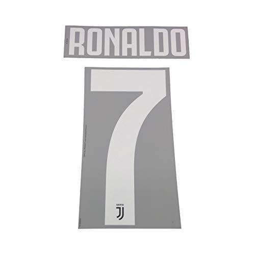 DEKOGRAPHICS Juventus 7 Ronaldo Nome e Numero Maglia Home 2019/20