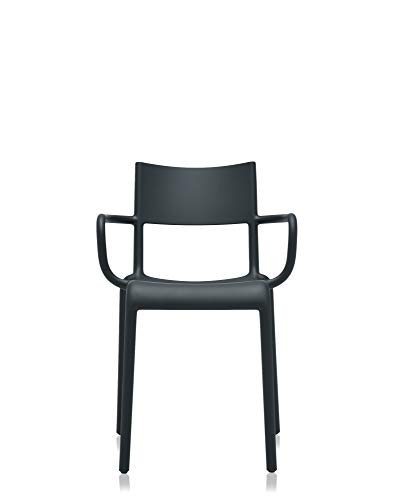 Kartell Silla Generic A, color Negro