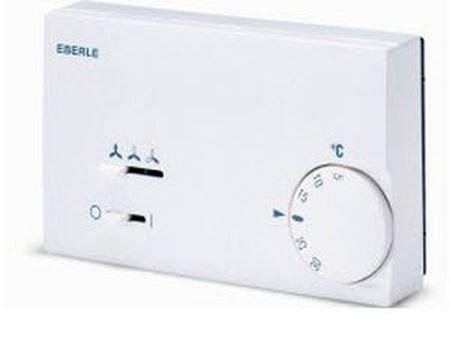 Eberle; KLR-E 7011 (Más opciones clic: aquí); Termostato para fancoil, bimetal, actúa sobre válvula de frío o calor