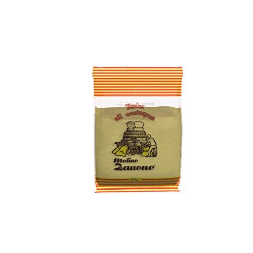 Gluten Free Chestnut Flour, 17.06 Ounces - Molino Zanone Farina di Castagne, 500 grams