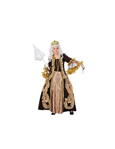 DISBACANAL Disfraz de marquesa Infantil - -, 12 aos