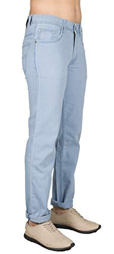 0-DEGREE Men Jeans Pant Stretch Slim Fit