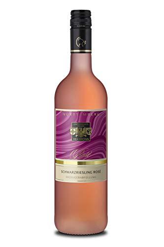 Württemberger Wein Heilbronner Schwarzriesling Rosé QW lieblich (1 x 750 ml)
