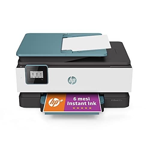 Stampante Multifunzione HP OfficeJet 8015e - 6 mesi di inchiostro inclusi con HP+