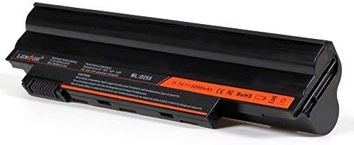 CBD Laptop replacement Battery for Acer Aspire One D255 D257 D260 D270 | E100 | Packard Bell Dot SE | Gateway LT23 LT25 – [Li-ion; 5200 mAh; BLACK]