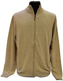 GERMINI Cardigan Uomo Full Zip in Cashmere Prodotta in Umbria Made in Italy dalla M Fino Taglie Forti 7XL Colori Assortiti