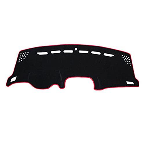 QWSNED Alfombrilla antideslizante para salpicadero, almohadilla de panel de instrumentos de poliéster para coche, almohadilla de panel de instrumentos de alto adhesivo, para Jeep Renegade (2016-2019)