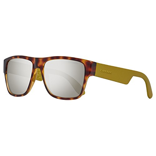 Carrera 5002 JO C24 Gafas de sol, Amarillo (Havana Matte Yellow/Grey Bronze Mirror), 55 Unisex-Adulto