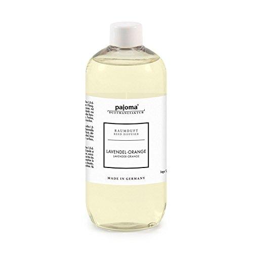 Pajoma 94268 Raumduft Nachfüllflasche, 500 ml, Lavendel Orange