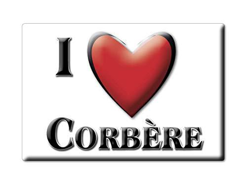 Enjoymagnets CORBÈRE (66) Souvenir IMANES DE Nevera Francia Centre IMAN Fridge Magnet Corazon I Love