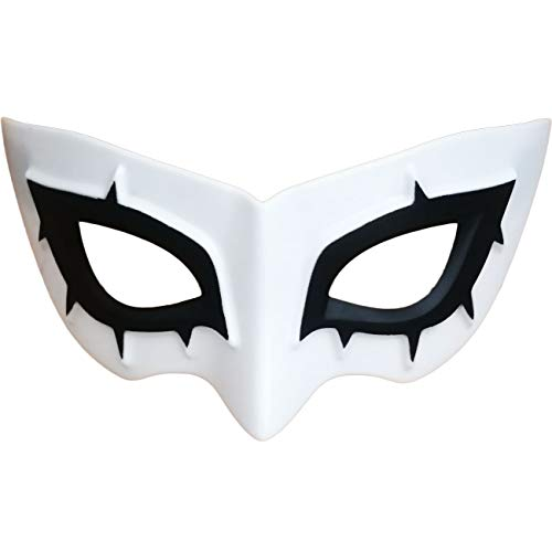 Marrol P5R Hero Arsène Joker Mask White ABS Half Face Mask Cosplay Prop Comic Con Halloween Party Masque