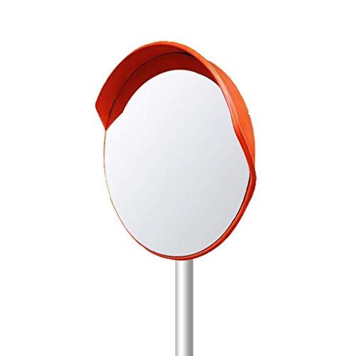 L.TSN Espejo de tráfico del estacionamiento del Hospital, colisión no deformada Espejo Convexo Protector Solar Plástico Diámetro de la Lente Gran Angular: 30-120 cm (tamaño: 100 cm)